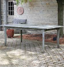 Smith And Hawken Teak Patio Furniture by Large Teak Wood Outdoor Table By Smith And Hawken Ebth