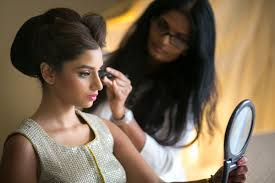 make up artist in miami bright and festive hindu celebration with outdoor ceremony in
