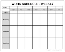 blank weekly calendar archives template to print