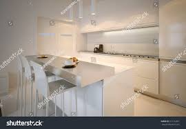 idea scandinavian kitchen glossy cabinets acrylic stock