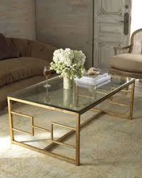 Metal And Glass Coffee Table Coffee Table Glass Gold Coffee Table Console Tables All