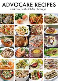 advocare 24 day challenge meal plan advocare advocare recipes