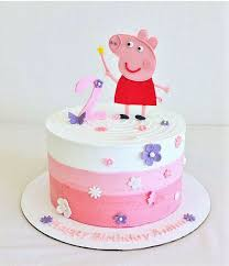 25 peppa pig cakes ideas peppa pig birthday