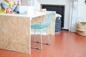 bureau en osb diy le bureau home made de zess fr lifestyle mode
