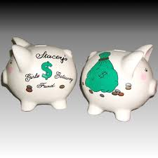 customized piggy bank personalized piggy bank for adults painted ceramic