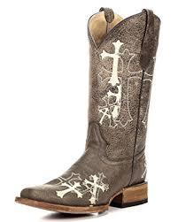 corral womens boots sale amazon com corral s cross embroidery square toe