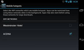 mobile hotspot for android how to tag wifi access points as mobile hotspots on your android