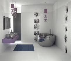 bathroom design blue brown bathroom decor grey wooden door bath