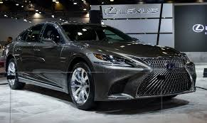 lexus canada 2018 lexus ls 500h debuts in north america at the vancouver show