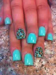 26 full color acrylic nail designs stylepics