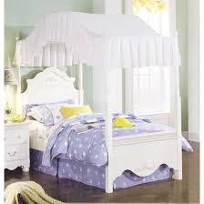white twin canopy bed genwitch fresh idea white twin canopy bed size