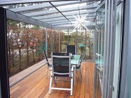 wintergarten balkon wintergarten überdachung wetterschutz terrassenüberdachung