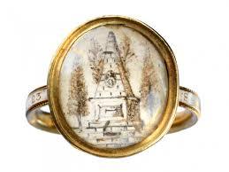 mourning ring 1772 georgian mourning ring erie basin