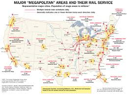 Septa Rail Map Us High Speed Rail Map Map Shows Where 220mph Trains Would Go In