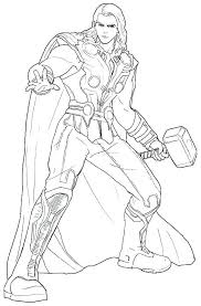Thor Coloring Page Coloring Pages Photo Image Coloring Book Lego Thor Coloring Page