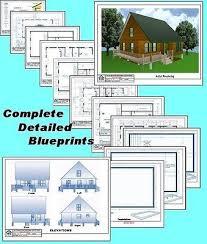 x32 cabin w loft plans package blueprints material list 28x28 cabin w loft plans package blueprints material list 49 95