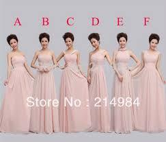 bridesmaid dresses 2015 hot sale pink chiffon bridesmaid dress 2015 free