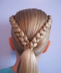hairstyles plaited children excellently attractive cute braided hairstyles for kids