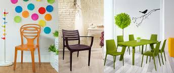 Supreme Dining Chairs Plastic Chairs Modern Designer Plastic Furniture Plastic Chair