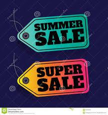 summer sale price tag sale colorful percent discount super
