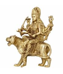 home decoration statues shalinindia brass sculptures and statues durga idol religious