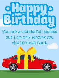 amazing birthday gift card for nephew birthday u0026 greeting cards