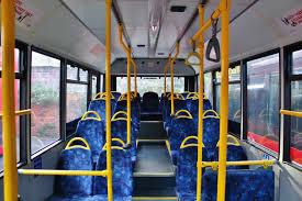 London Bus Interior Municipal Bus Routes