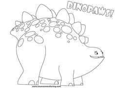 download print awesome dinopaws tony coloring create