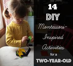 14 montessori inspired activities for a 2 year old