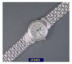 silver bracelet watches images Croton sterling silver panther link bracelet watch 001