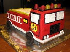 how to make a fire truck birthday cake truck birthday cakes