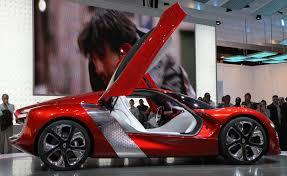 renault dezir concept file paris mondial de l u0027automobile 2010 renault dezir 003