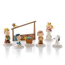hallmark exclusive 2012 peanuts gallery nativity