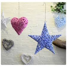 Heart Home Decor Online Buy Wholesale Heart Rattan Decorations From China Heart