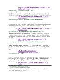lec power translator world premium