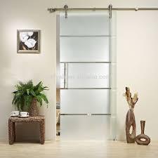 stainless steel glass sliding door hardware system rld 11 view