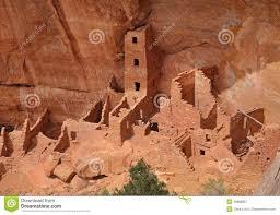Mesa Verde Map Cliff Dwellings At Mesa Verde National Park Usa Royalty Free
