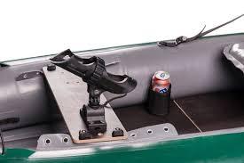 siege pour bateau pneumatique halibut l aventure pêche en kayak gonflable
