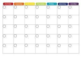 printable blank meal planner monthly menu plan printable monthly menu planner monthly menu and