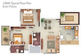 2bhk floor plans hill side 2 3 bhk apartments floor plans