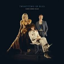 blue photo album sunflower bean grow by leaps and bounds on twentytwo in blue
