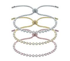 bracelet diamond style images Indo bracelet mixed metal set diamond style jpg