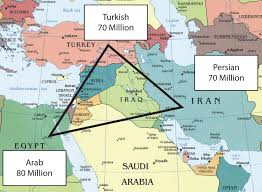 Kuwait On A Map Iraq Turkey And Iran