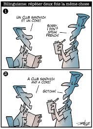 Meme Chose - bilinguisme répéter deux fois la même chose francopresse