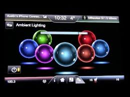 Ford Expedition Interior Lights 2014 Ford Fusion Ambient Lighting Demo Youtube