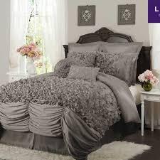 Gray Bed Set Furniture Purple Bed Linen Bedding Sets Lavender And Grey