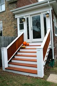 stairs from front of the house design including brick porch steps