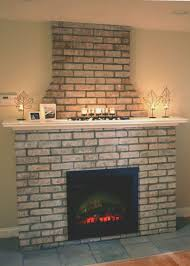fireplace how to cover brick fireplace home design wonderfull