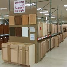 Unfinished Solid Wood Kitchen Cabinets Stock Cabinets Pease Warehouse U0026 Kitchen Showroom