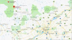 Map Of Ottawa 4 1 Magnitude Earthquake Hits Quebec North Of Ottawa No Damage